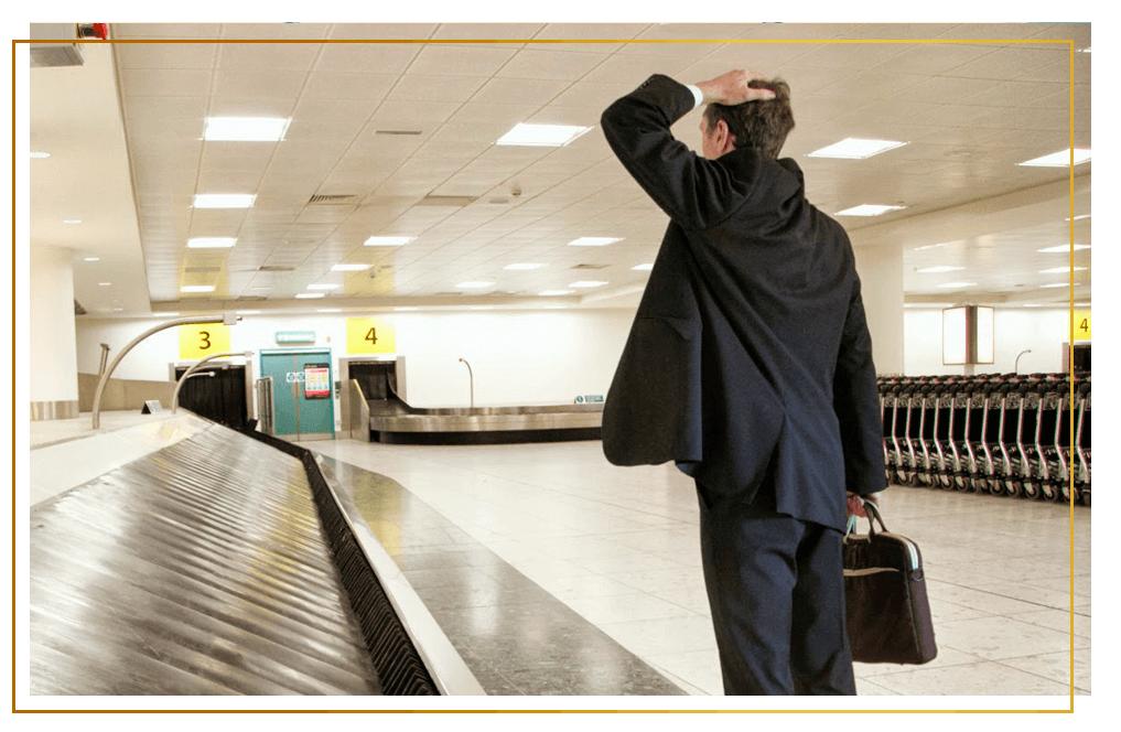 bagagem no Turnes Advogados